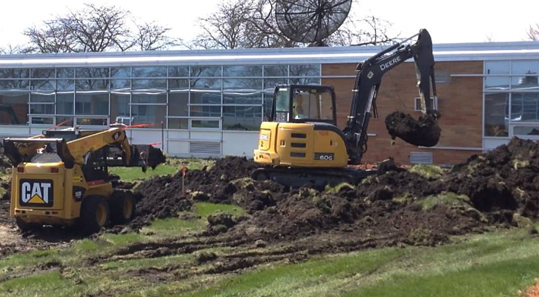 Work begins on $23.7 million Mundelein High School expansion project
