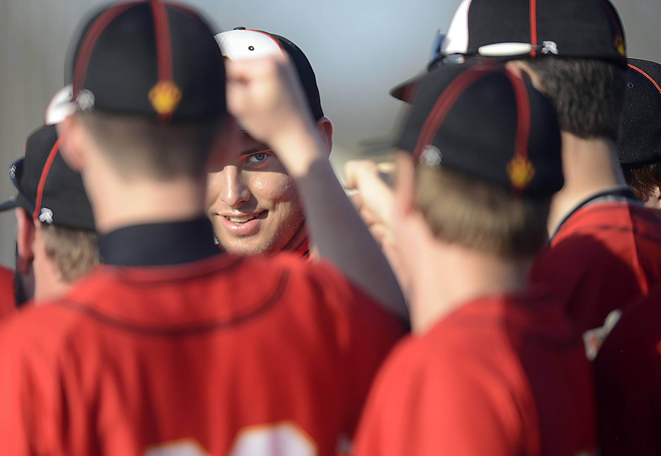 Batavia's Ben Lynam was the center of attention Thursday as he struck out 15 Larkin batters in Elgin.