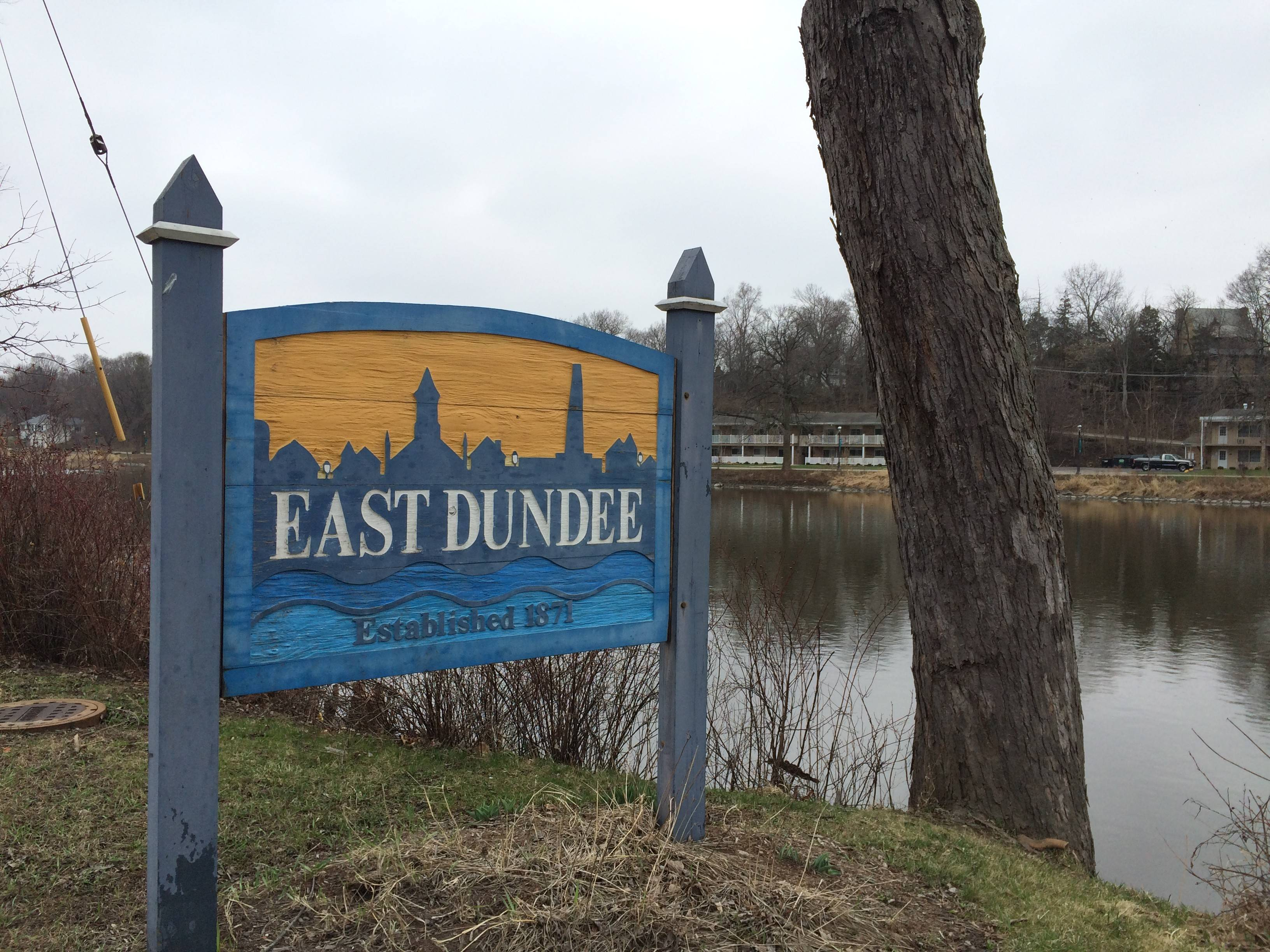 East Dundee is a village of 3,200 people along the Fox River in Kane County.