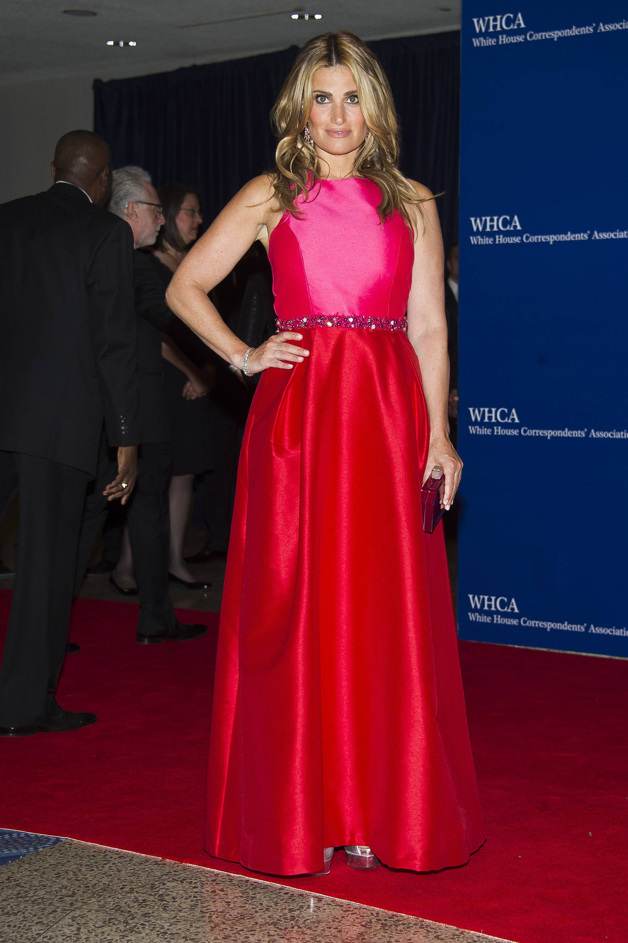 Idina Menzel attends the 2015 White House Correspondents' Association Dinner at the Washington Hilton Hotel on Saturday, April 25, in Washington, D.C.