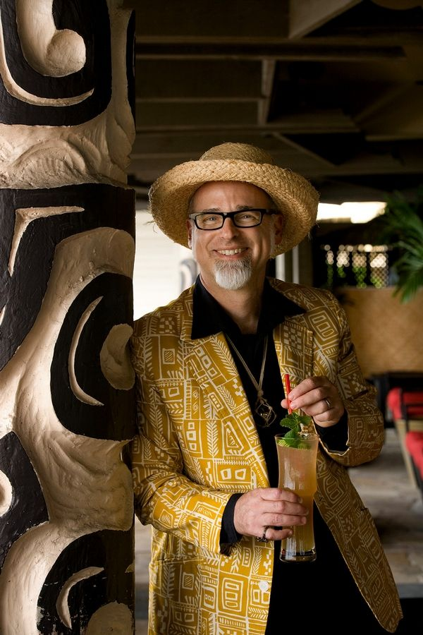 "With his white goatee, straw hat and tropical attire, Jeff ""Beachbum"" Berry looks like a guy who took the songs of the Beach Boys as a guidebook for living."