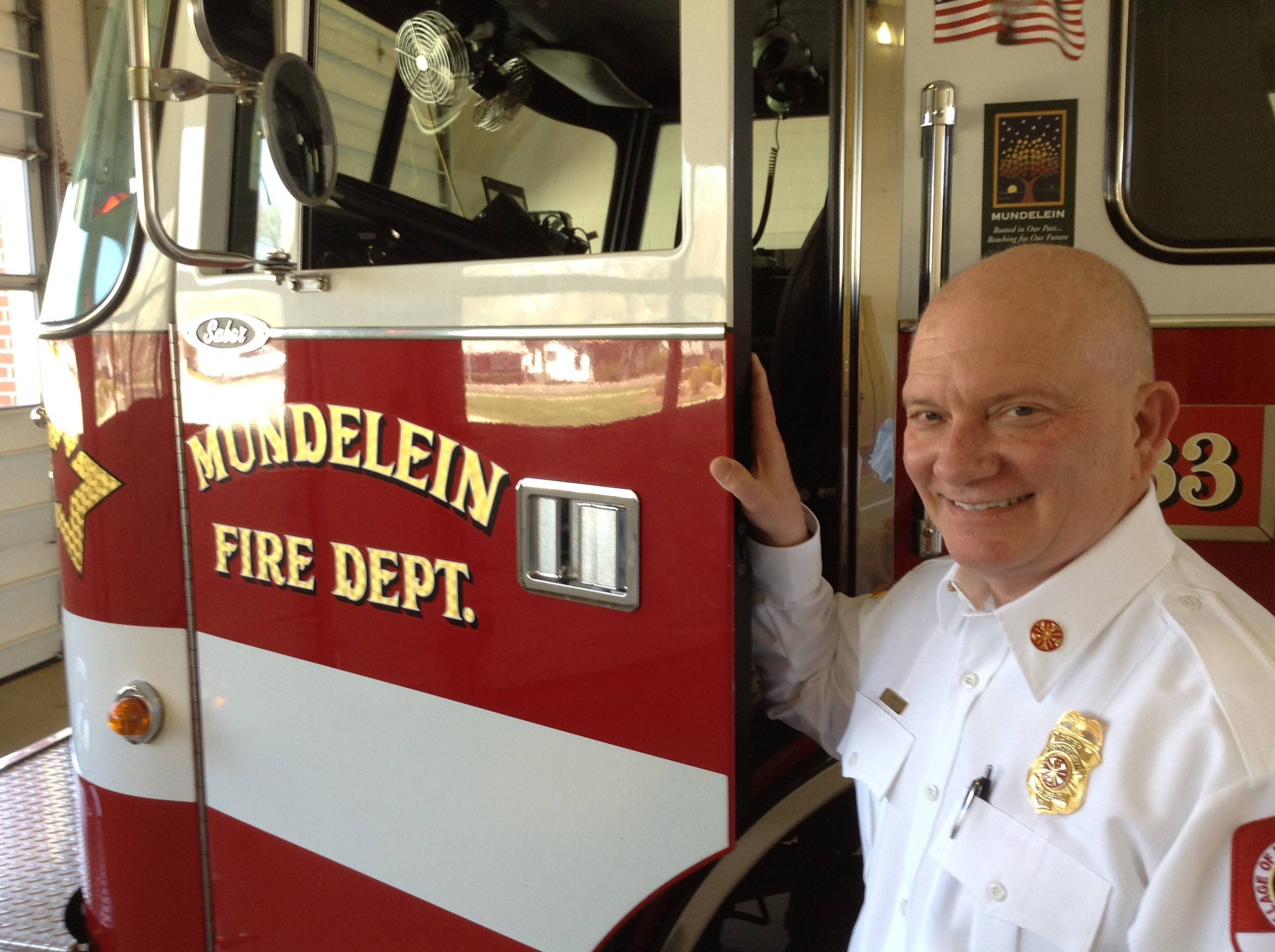 Mundelein fire chief taking new post with state group
