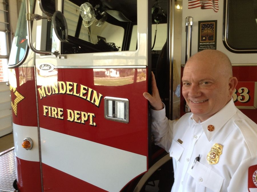 Mundelein Fire Chief Tim Sashko will leave the department at the end of the week for a job with a statewide industry organization.