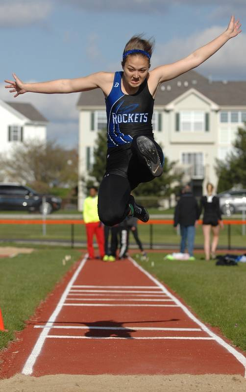 spencer brown track meet
