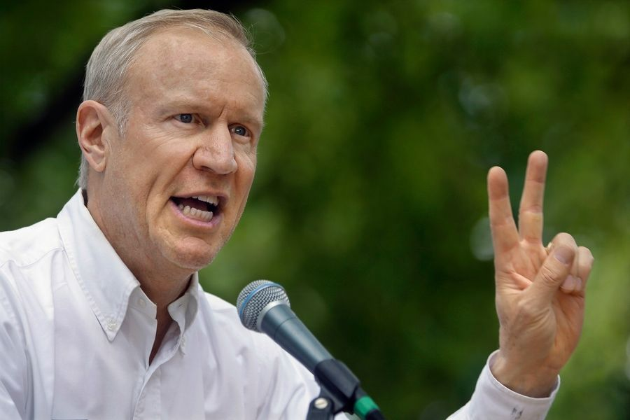 Gov. Bruce Rauner initially proposed a two-year property tax freeze, but his latest proposal would make it longer.