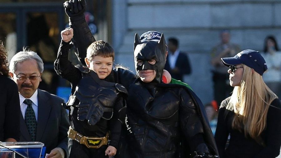 "The optimistic documentary ""Batkid Begins: The Wish Heard Around the World"" is just what our troubled society needs now."