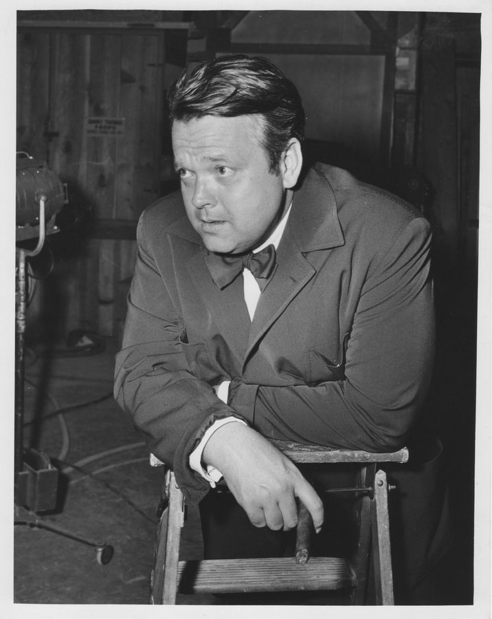 "A rare publicity photo of former Woodstock resident Orson Welles from ""The Fountain of Youth,"" a TV pilot he directed and starred in for Desilu Productions. Welles is the subject of a monthlong festival in Woodstock."