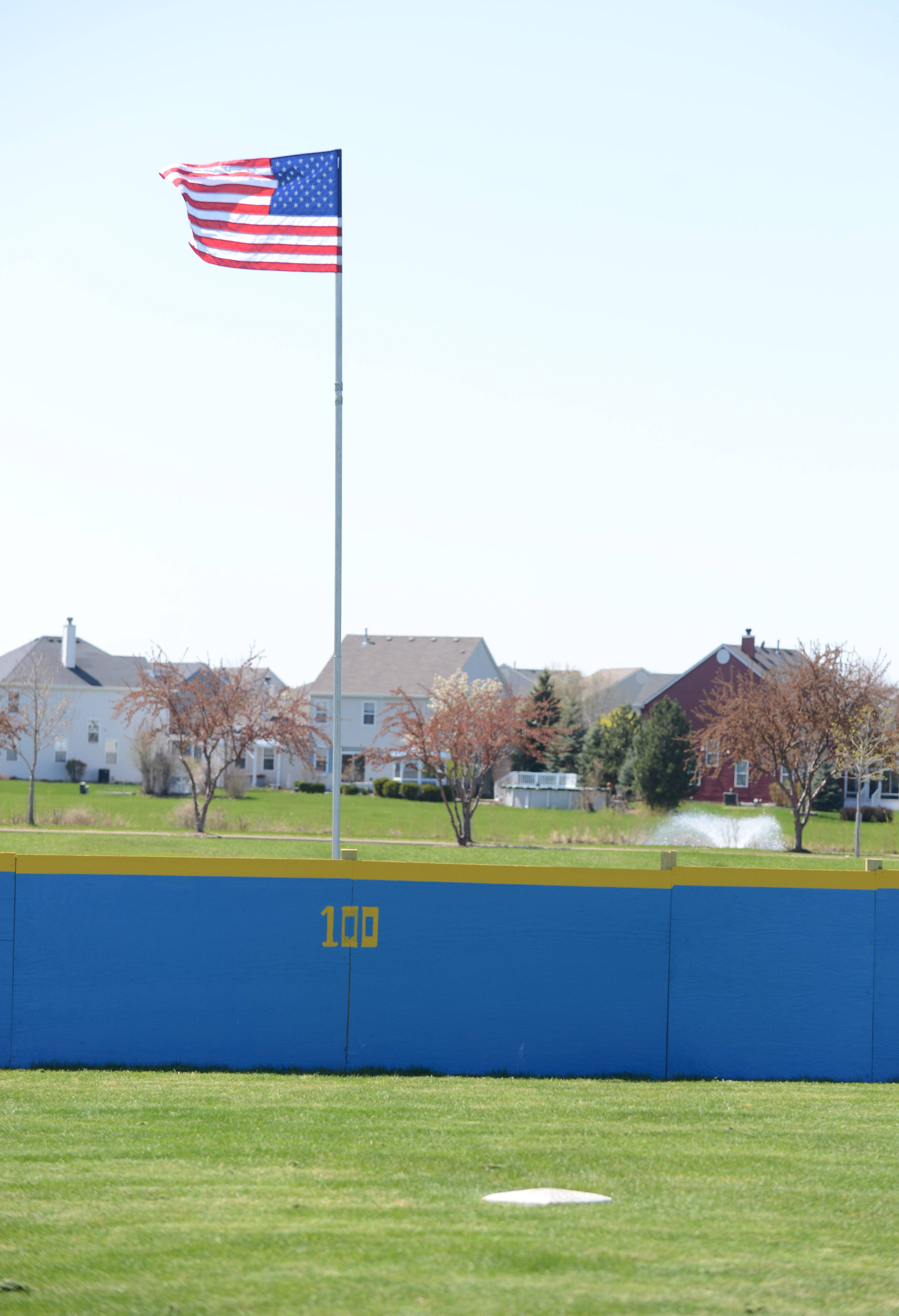 The West Chicago Park District has a Wiffle ball field at Cornerstone Lakes Park on Smith Road.