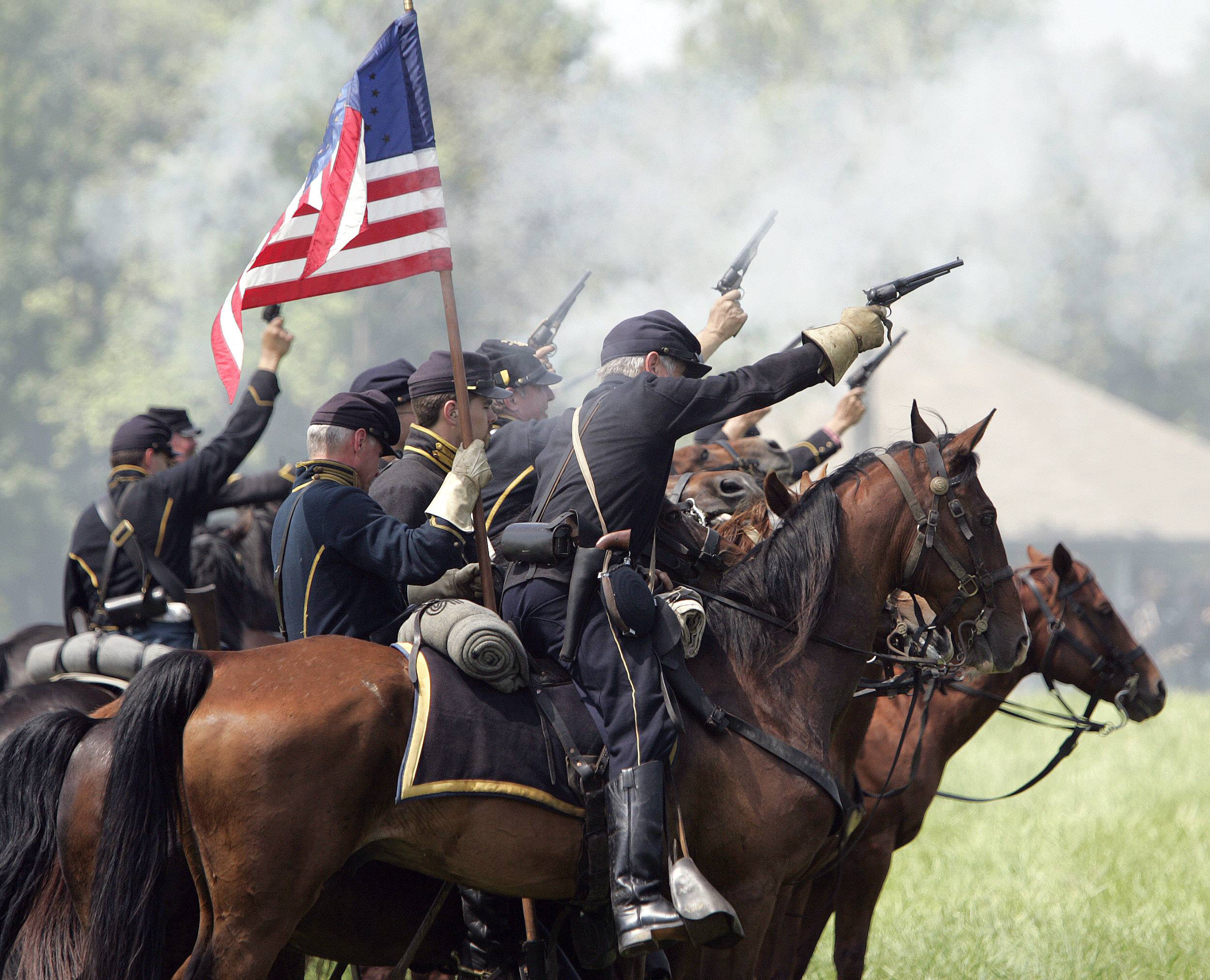 Conflict between the North and the South in the Civil War