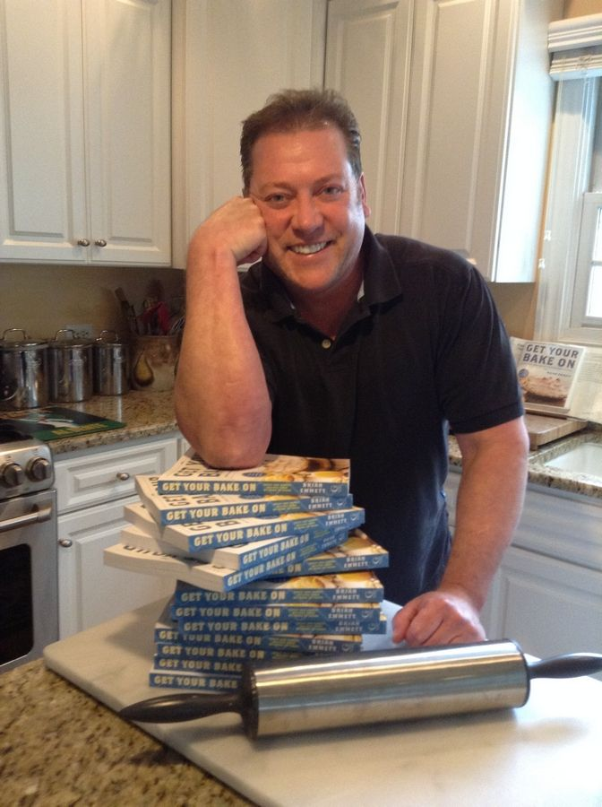 "Nearly two years after he won ""America's Baking Championship,"" Brian Emmett's cookbook hits store shelves. The publishing contract was part of his prize package."