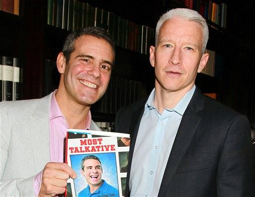 An Intimate Evening with Anderson Cooper & Andy Cohen: Deep Talk and Shallow Tales comes to the Chicago Theatre on Saturday, May 16.