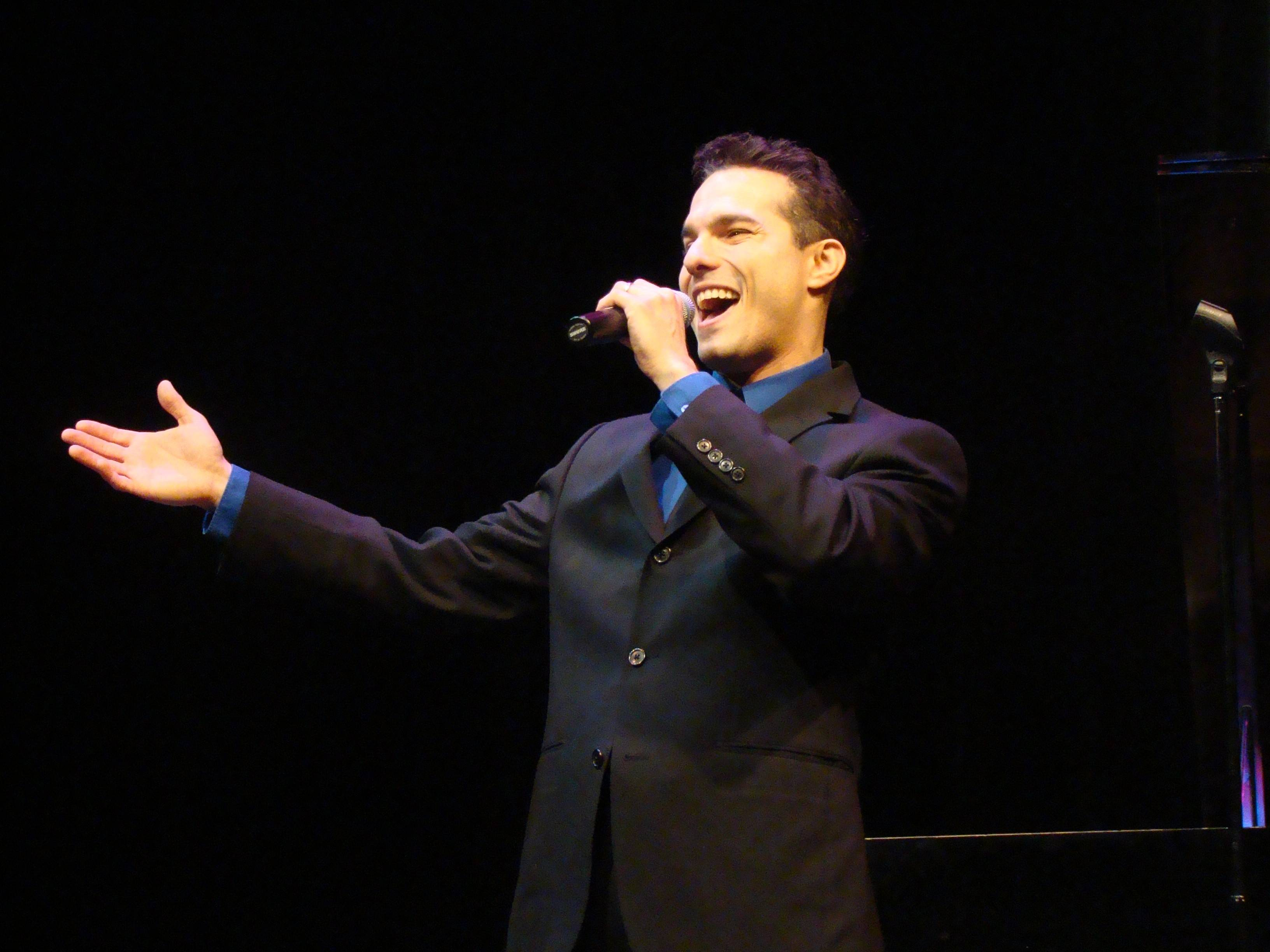 John Michael Coppola performs at North Central College in Naperville.