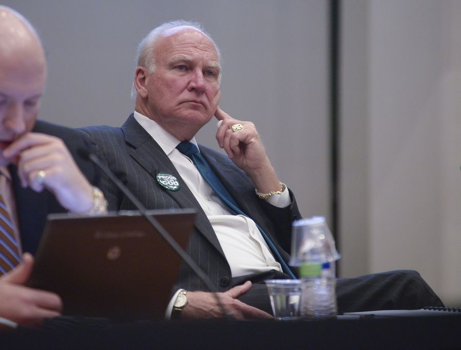 The College of DuPage's lawyers advised the college's board not to release audio recordings of the discussions of the severance package for President Robert Breuder, even though some board members would prefer they be released.