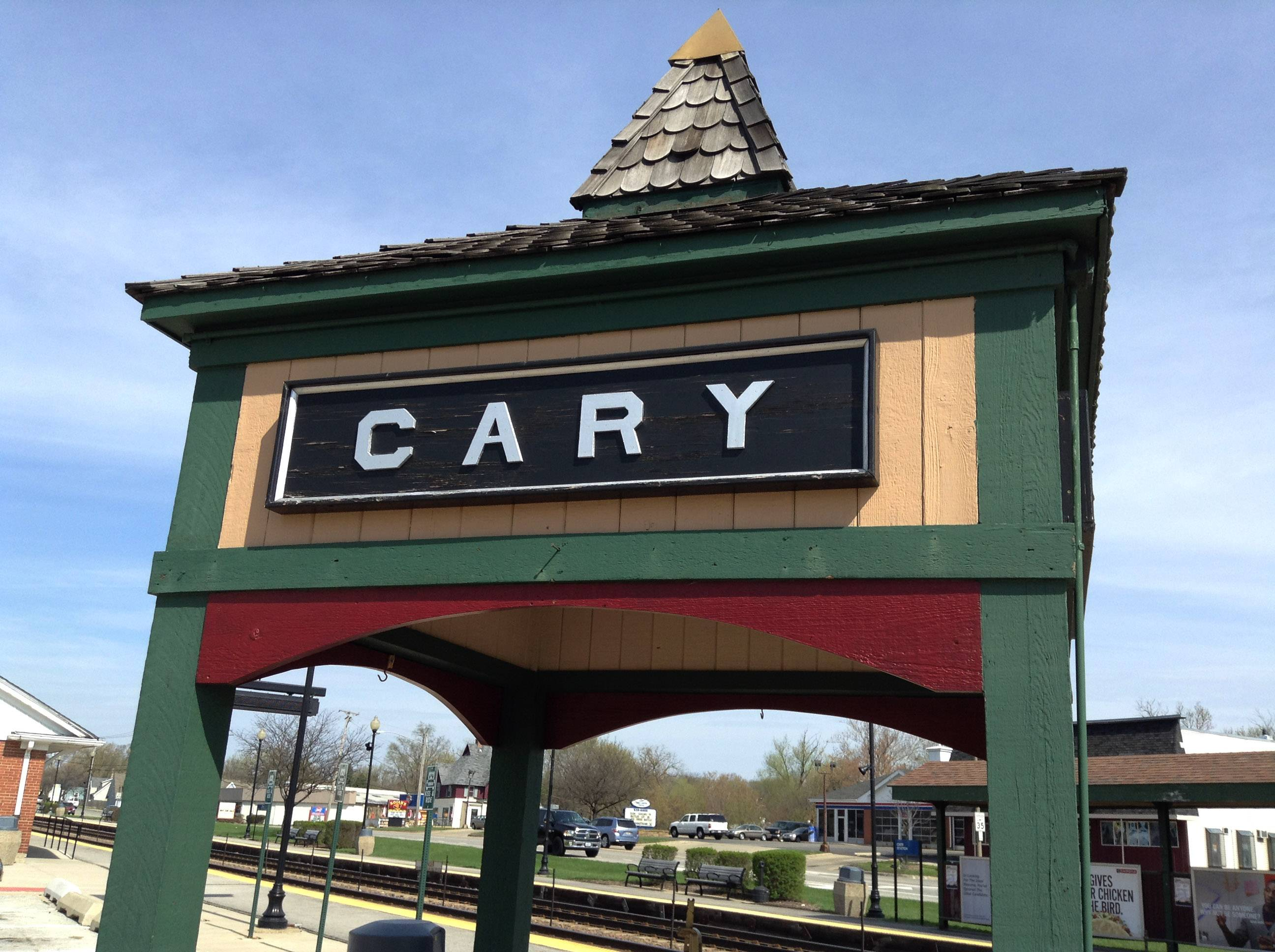Roughly 18,000 people live in Cary, which sits along the Fox River in McHenry County. It was founded in 1841 when William Dennison Cary purchased 82 acres at the location of the current town and built a farm.