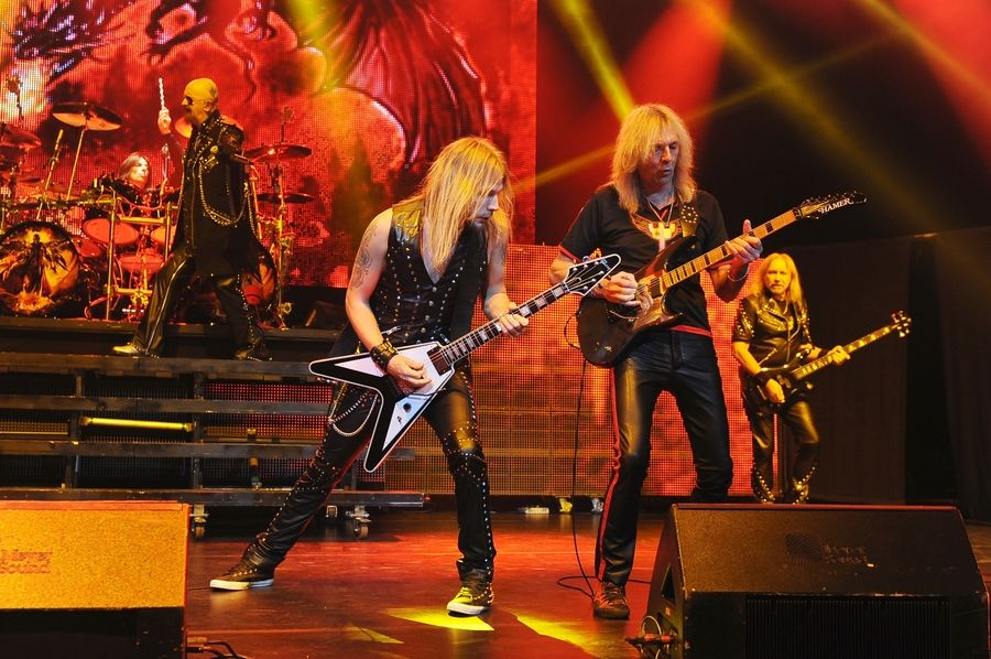 Judas Priest will play the Rosemont Theatre Thursday, May 21.