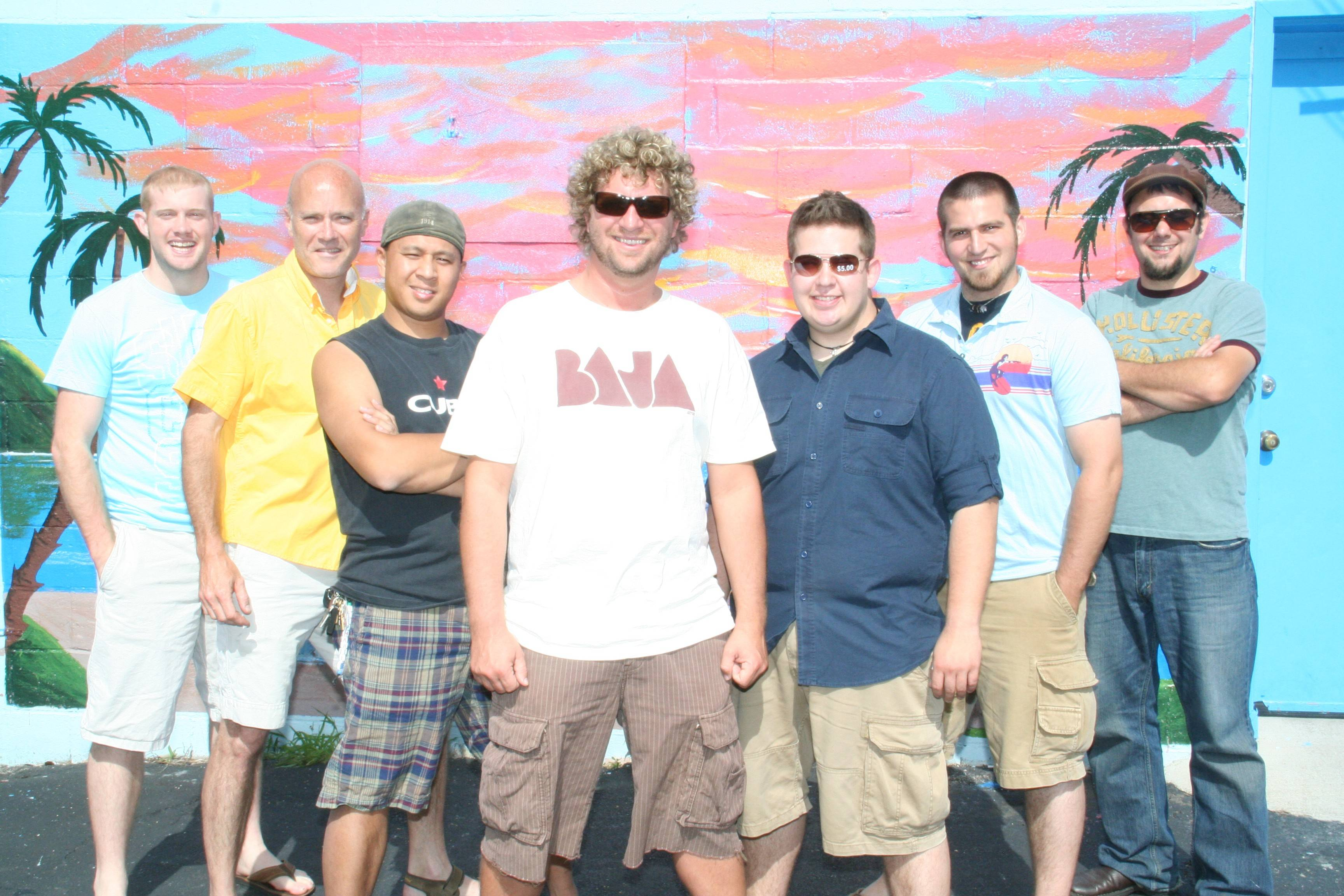 Johnny Russler and The Beach Bum Band headline on the season's opening Rockin' in the Park concert at MB Financial Park in Rosemont.