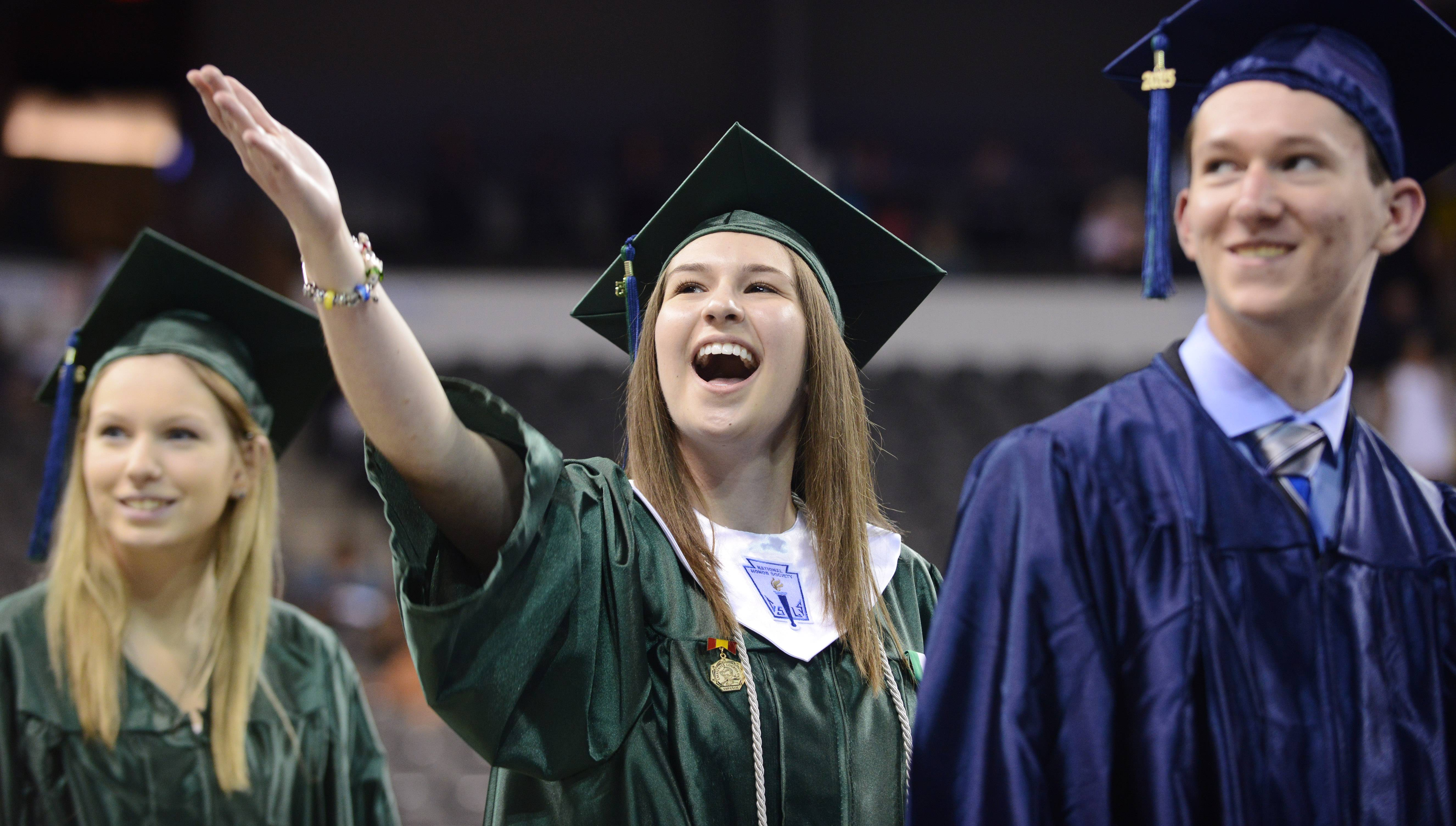 Images: Bartlett High School graduation