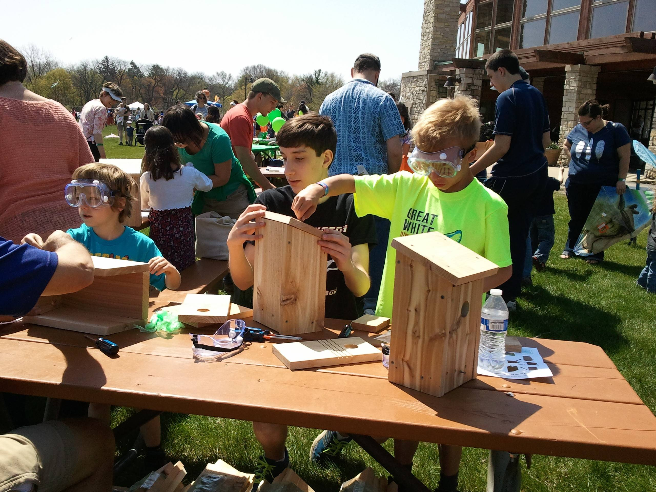 Eagle scout project bird houses