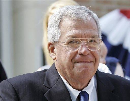 Timeline of the career of ex-US House Speaker Dennis Hastert