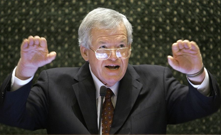 Federal prosecutors indicted former U.S. House Speaker Dennis Hastert on bank-related charges.