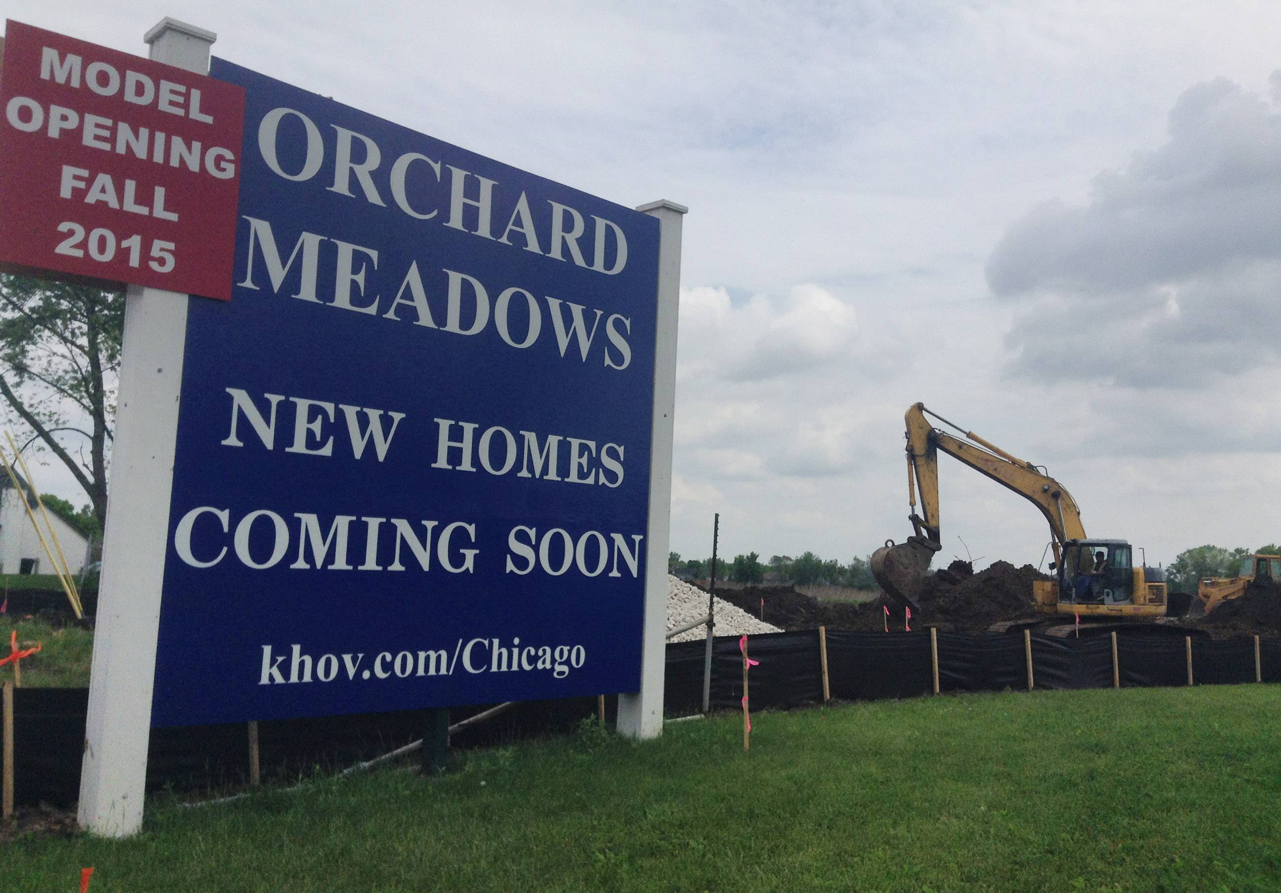 Work starts on subdivision at former Mundelein apple orchard property