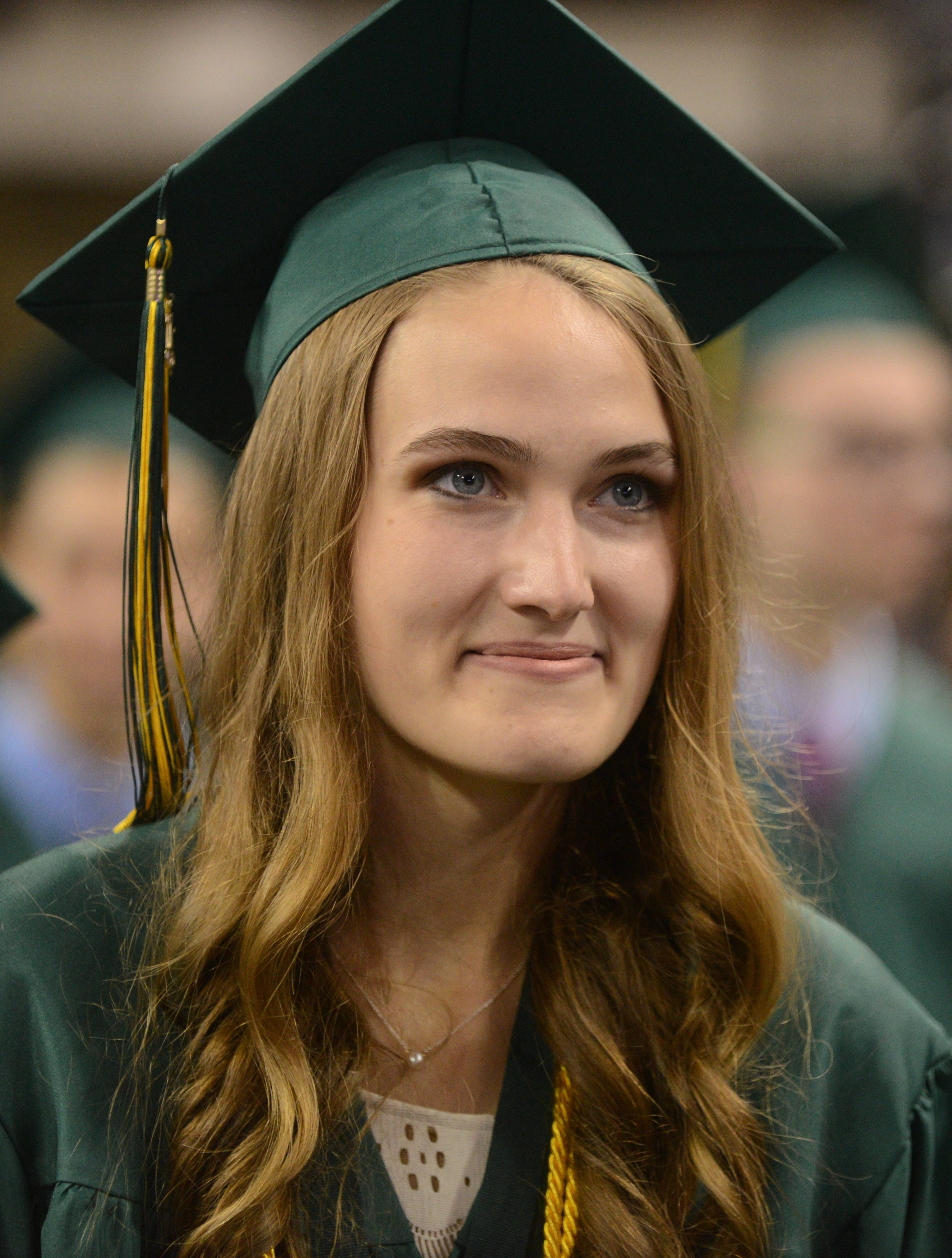 Fremd High School held its graduation ceremony on Sunday, May 31, at the Sears - EP-150539822
