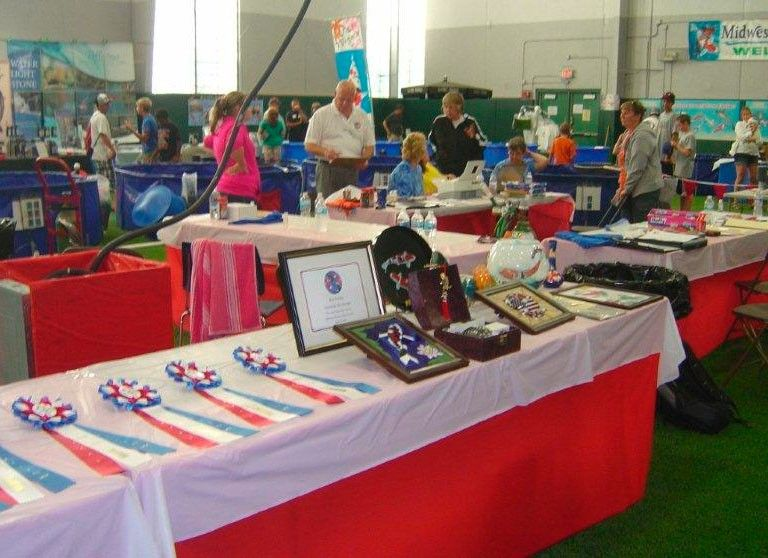 The Midwest Pond and Koi Society's annual show features vendors and information as well as a koi show, similar to a dog show.