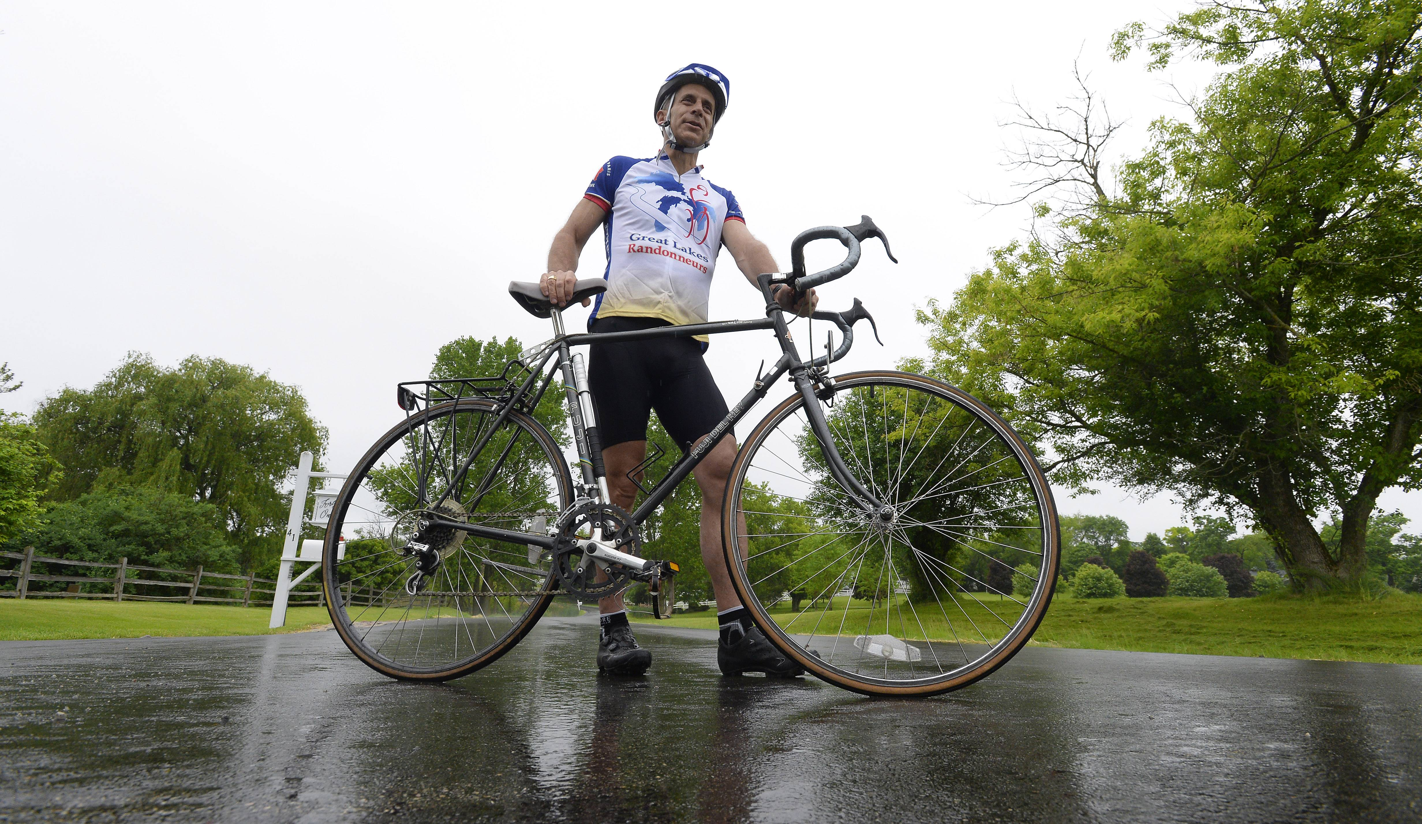 Constable: Can Barrington dad pedal from California by Father's Day?