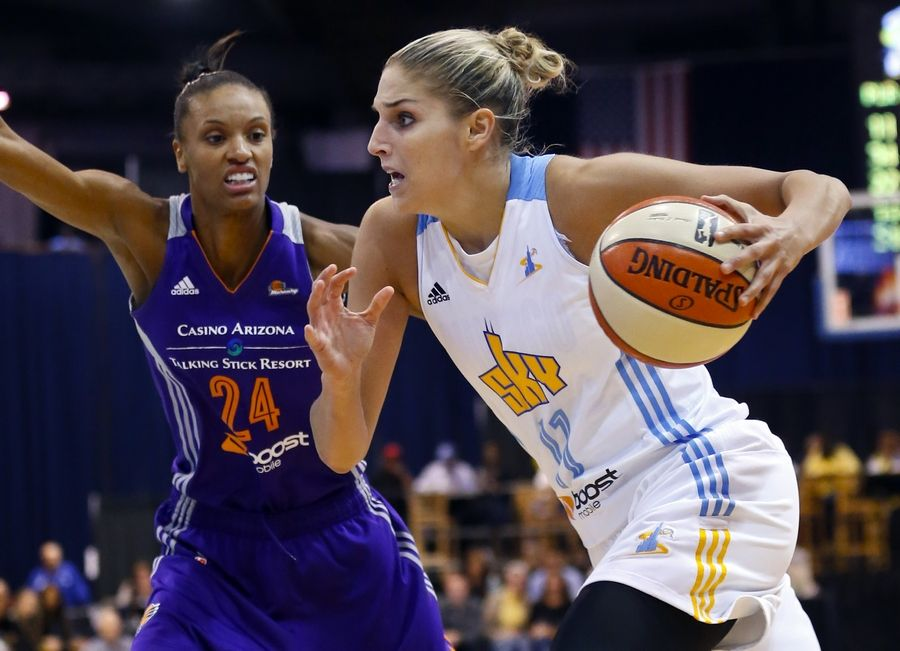 After winning the Eastern Conference and advancing to the WNBA Finals last season for the first time in franchise history, the Sky, which has since brought in one of the best players in the league in guard Cappie Pondexter, returns as one of the top contenders in the WNBA. Elena Della Donne is also expected to play a big role.