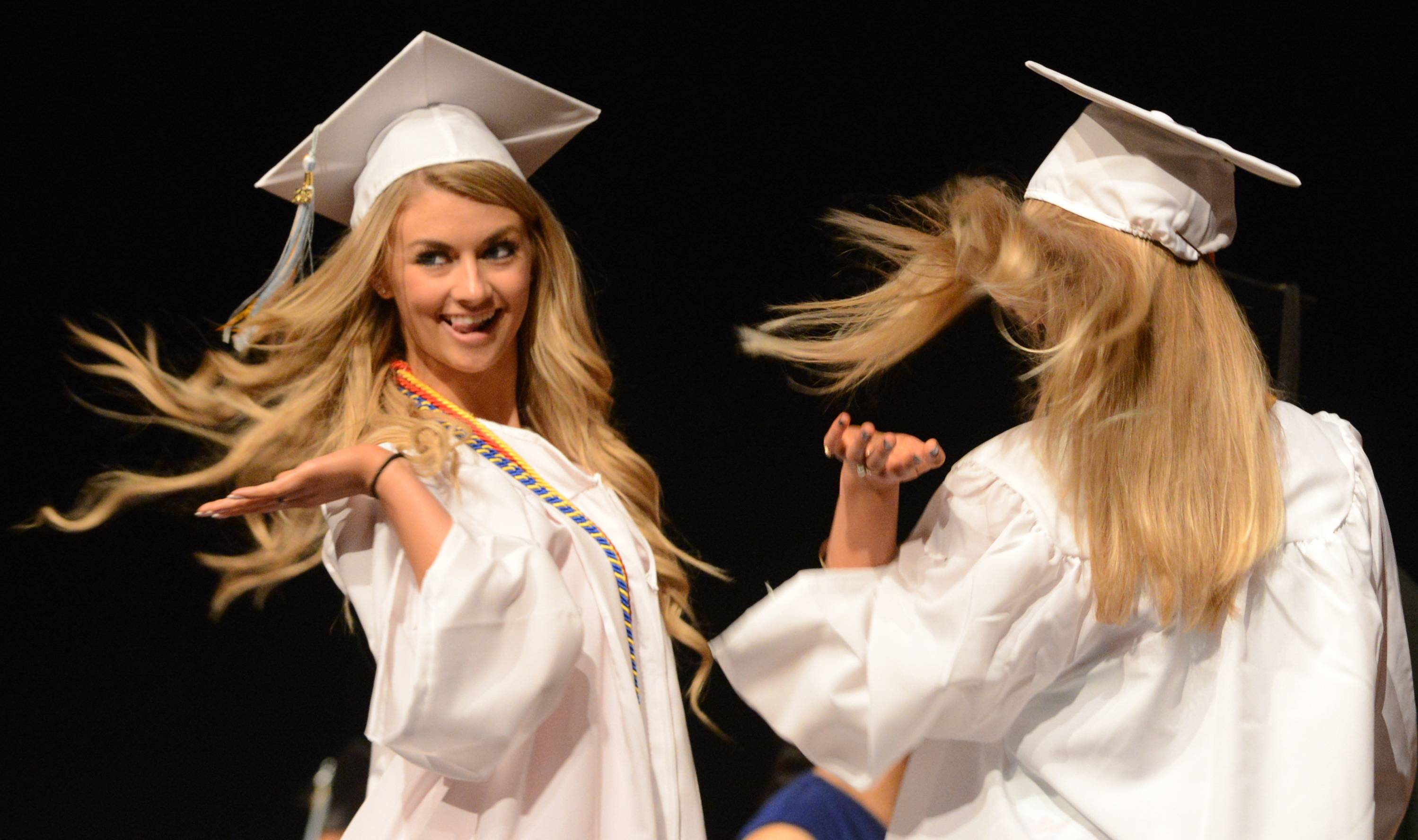 Maine West High School held its graduation ceremony on Saturday, June 6, at the Rosemont Theatre.