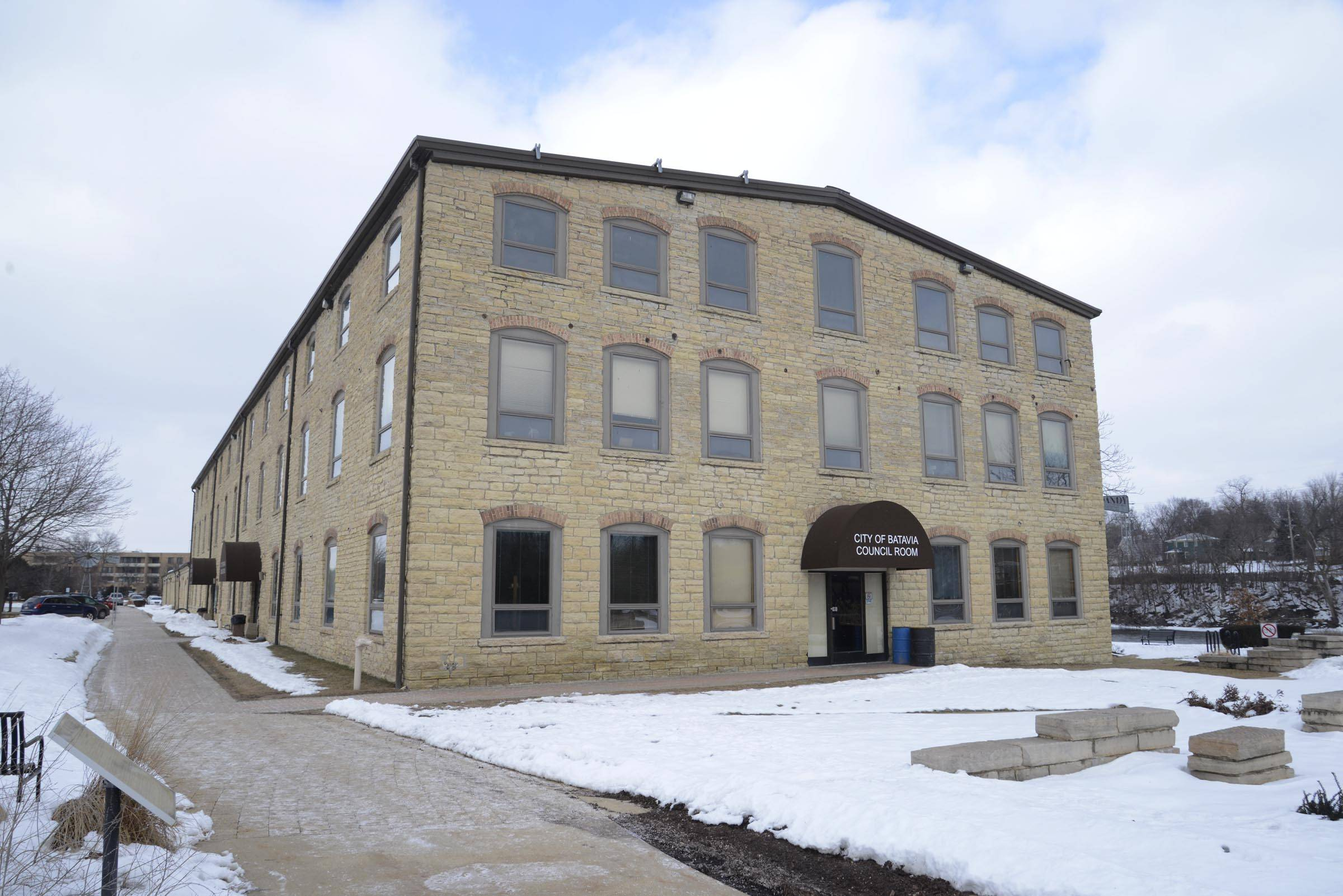 Repairs and renovations are being considered for the Batavia Government Center, including replacing all its windows.