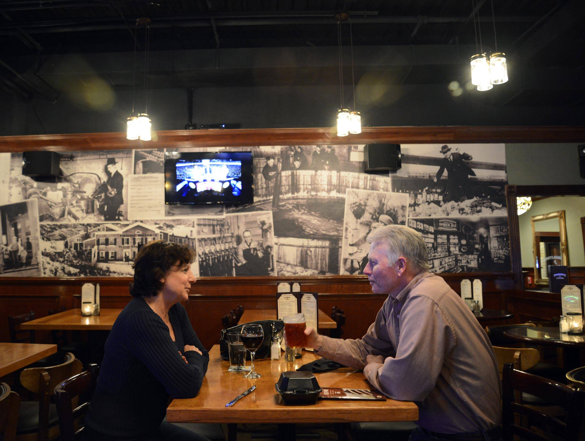 Prohibition Kitchen prohibition-era charm permeates expansive, yet cozy, bootleggers