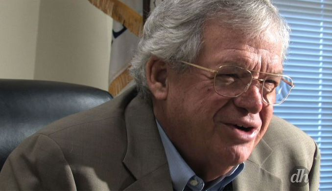 U.S. House Speaker Dennis Hastert is collecting three public pensions.