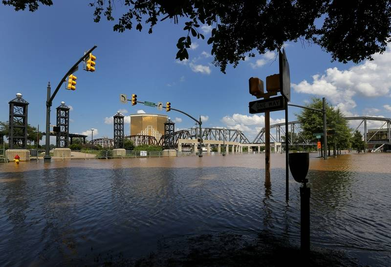 Images: Red River flooding causes nightmare in Louisiana