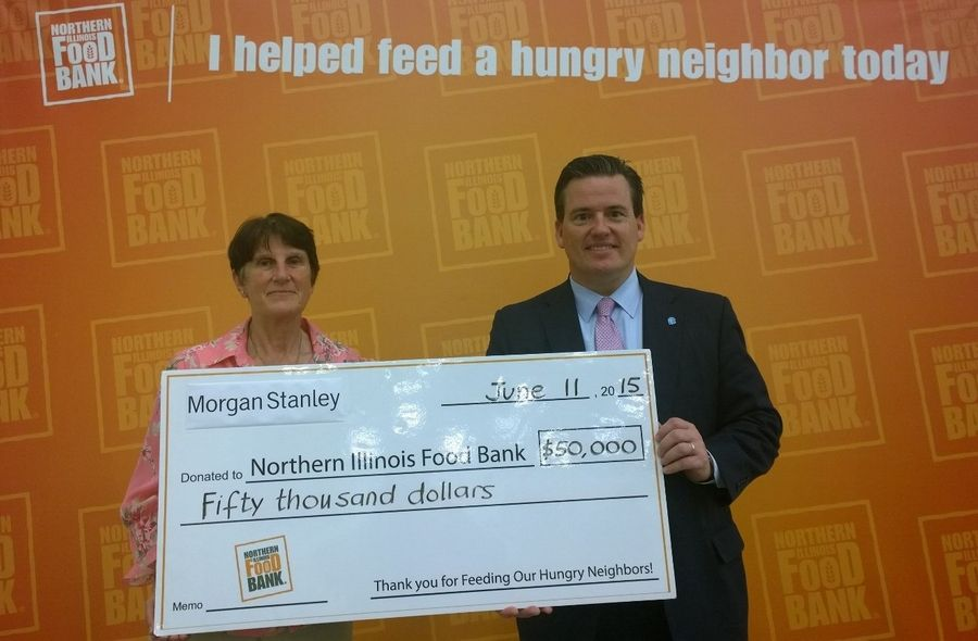 Morgan Stanley supports Northern Illinois Food Bank with