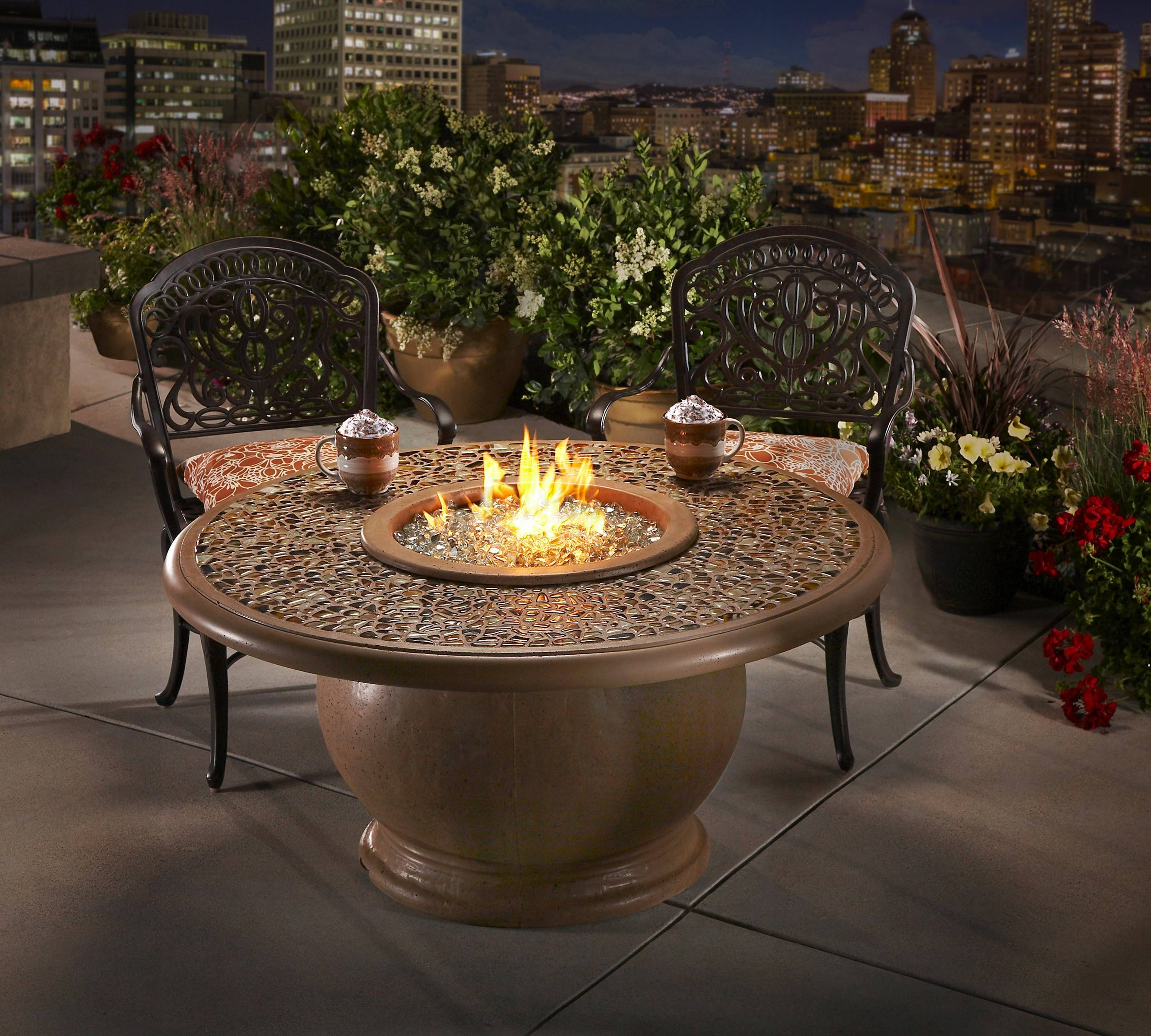 A Fire Table Puts The Action Right Where Your Guests Are Mingling. The Fire  Hole