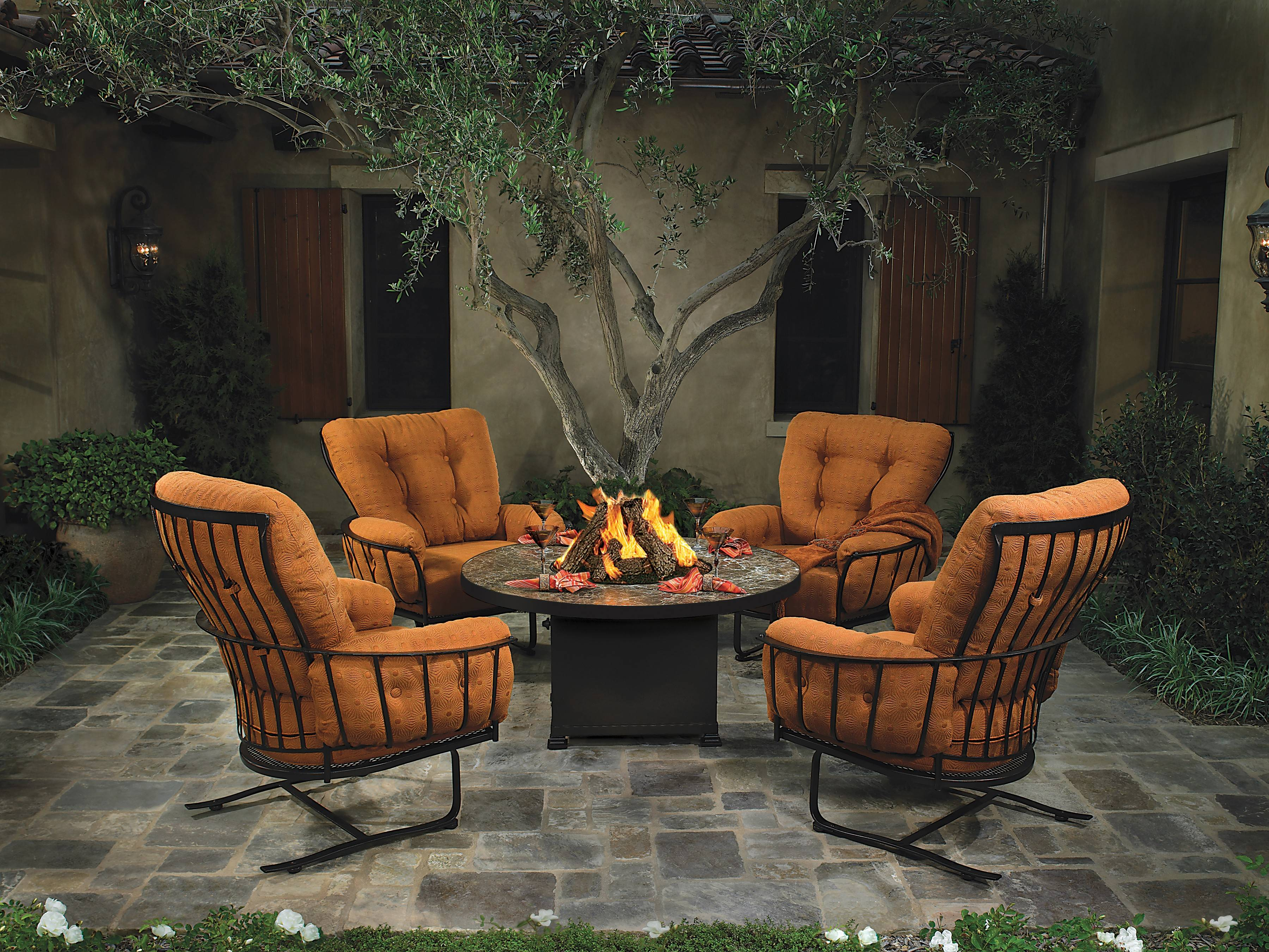 Fire Tables Are A Lower Maintenance Alternative To Wood Burning Fire Pits.
