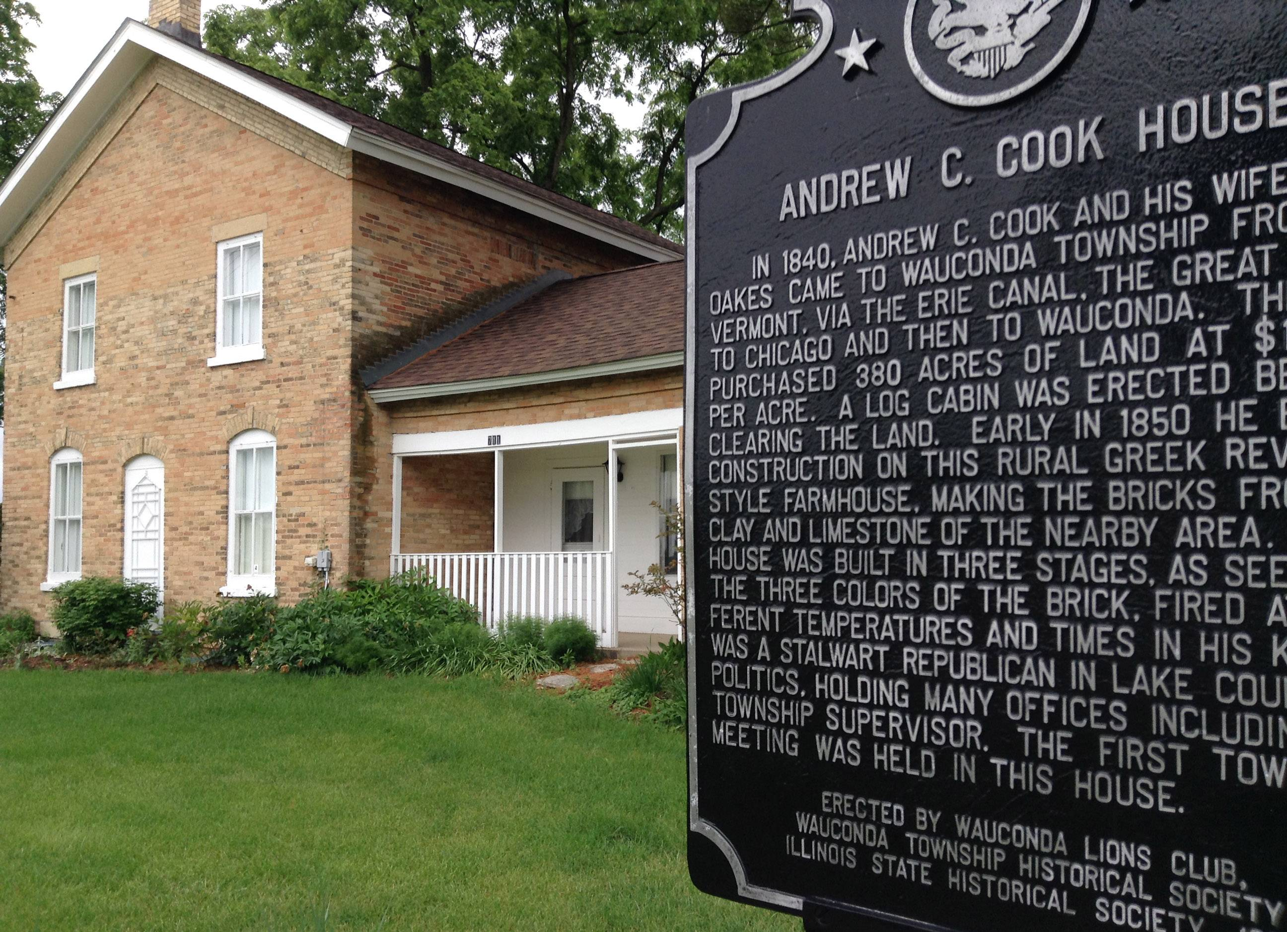 Wauconda Township meets where it all started in 1850