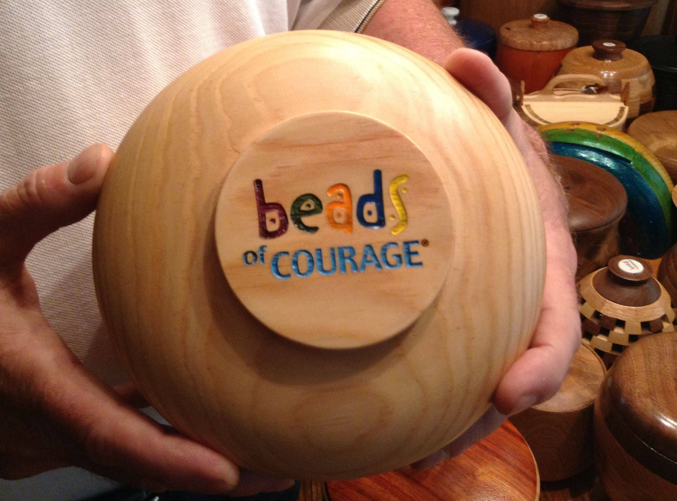 "The Arlington Heights-based Chicago Woodturners club is donating dozens of handcrafted wooden containers to Lurie Children's Hospital as part of a ""Beads of Courage"" campaign for children undergoing treatment for serious health problems."