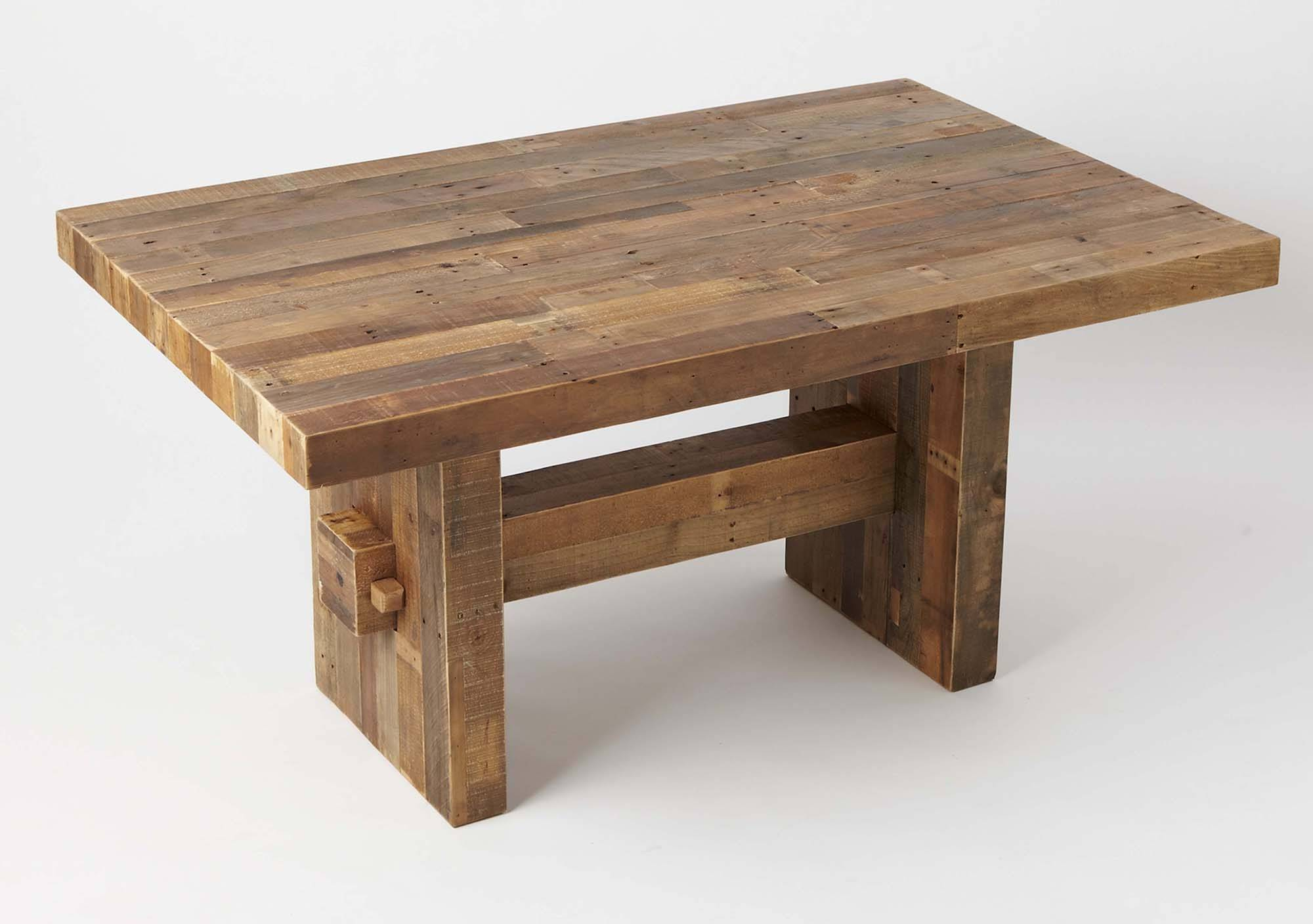 West Elmu0027s Dining Table, Made Of Reclaimed Pine, Would Hold Up Well Around  Rowdy