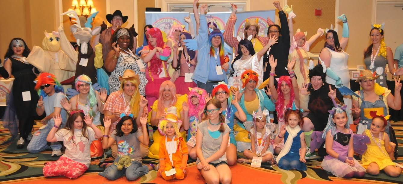 My Little Pony began in 1981 as a toy aimed at little girls. But the My Little Pony appeal on display this weekend at a convention in Schaumburg includes a rainbow of fans, including adult males known as Bronies.