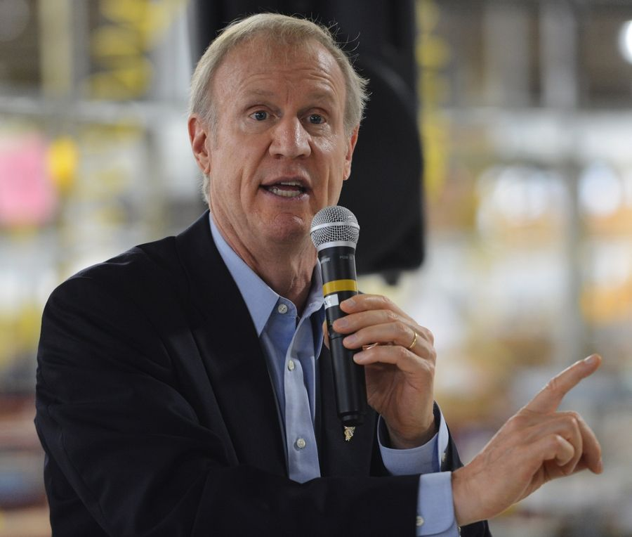 Gov. Bruce Rauner has vetoed most of the state budget.