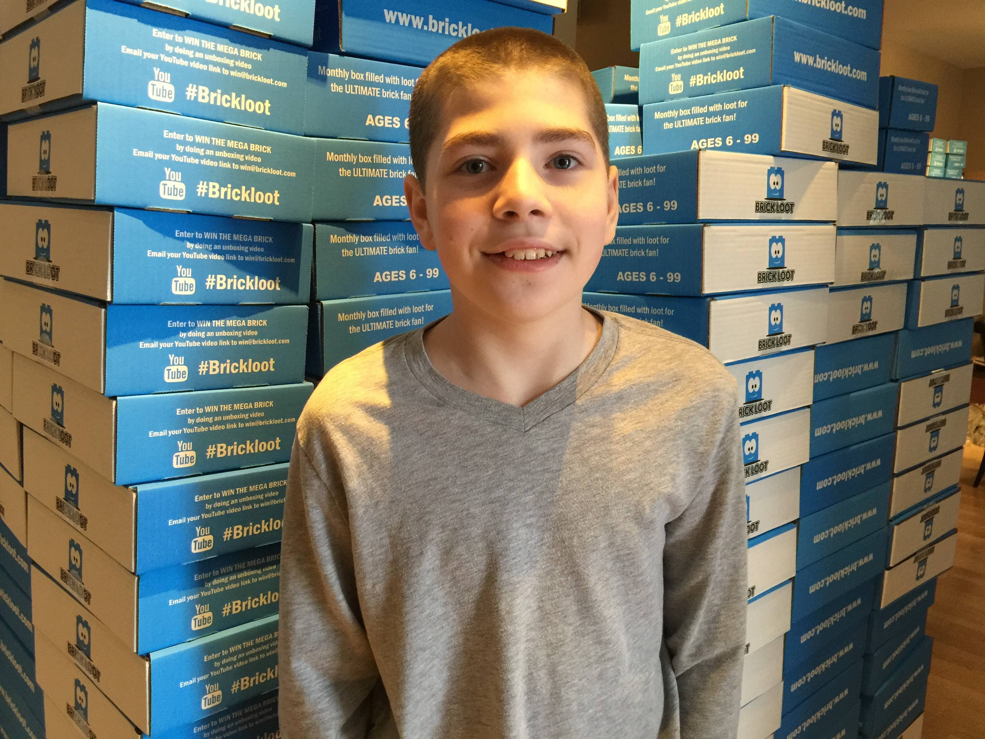 Parker Krex, 10, and his parents run a company called Brick Loot that caters to fans of Legos.