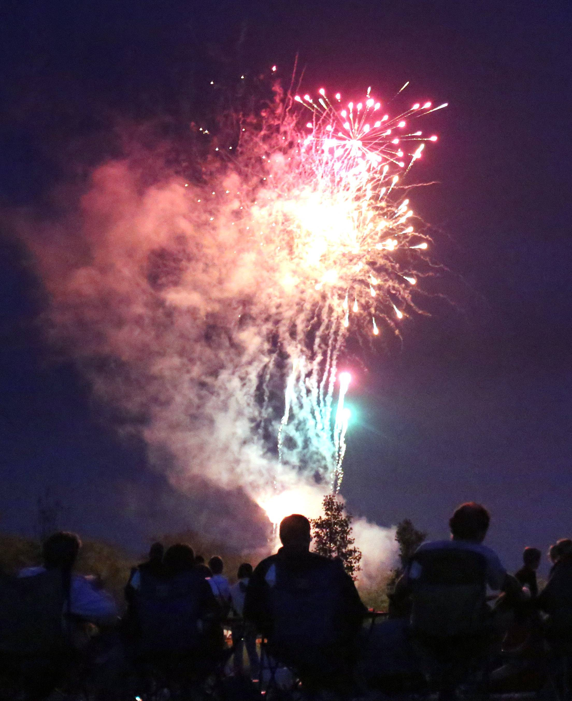 See fireworks Friday, July 3, at Cook Park in Wauconda.