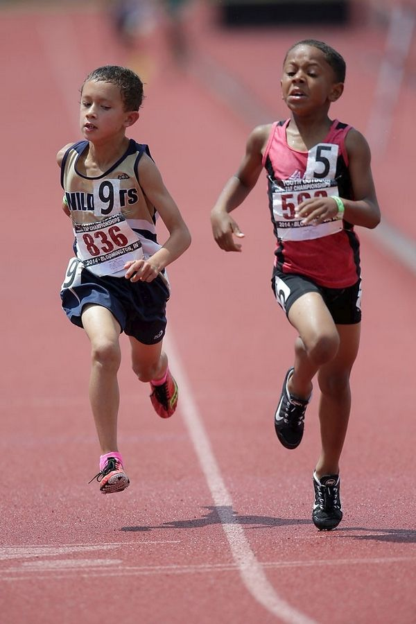 Athletes as young as 7 will run, jump and throw in the USATF Hershey Youth Outdoor Championships.