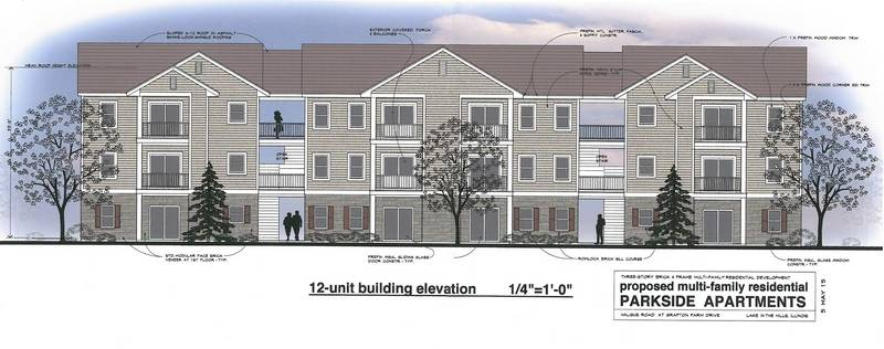 Lake in the Hills apartment complex plan moves forward