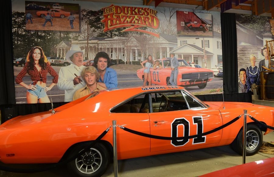 "The Volo Auto Museum in Volo already owns the eighth General Lee car used in the TV series ""The Dukes of Hazzard,"" but now it has made an offer for the original, now owned by golfer Bubba Watson."