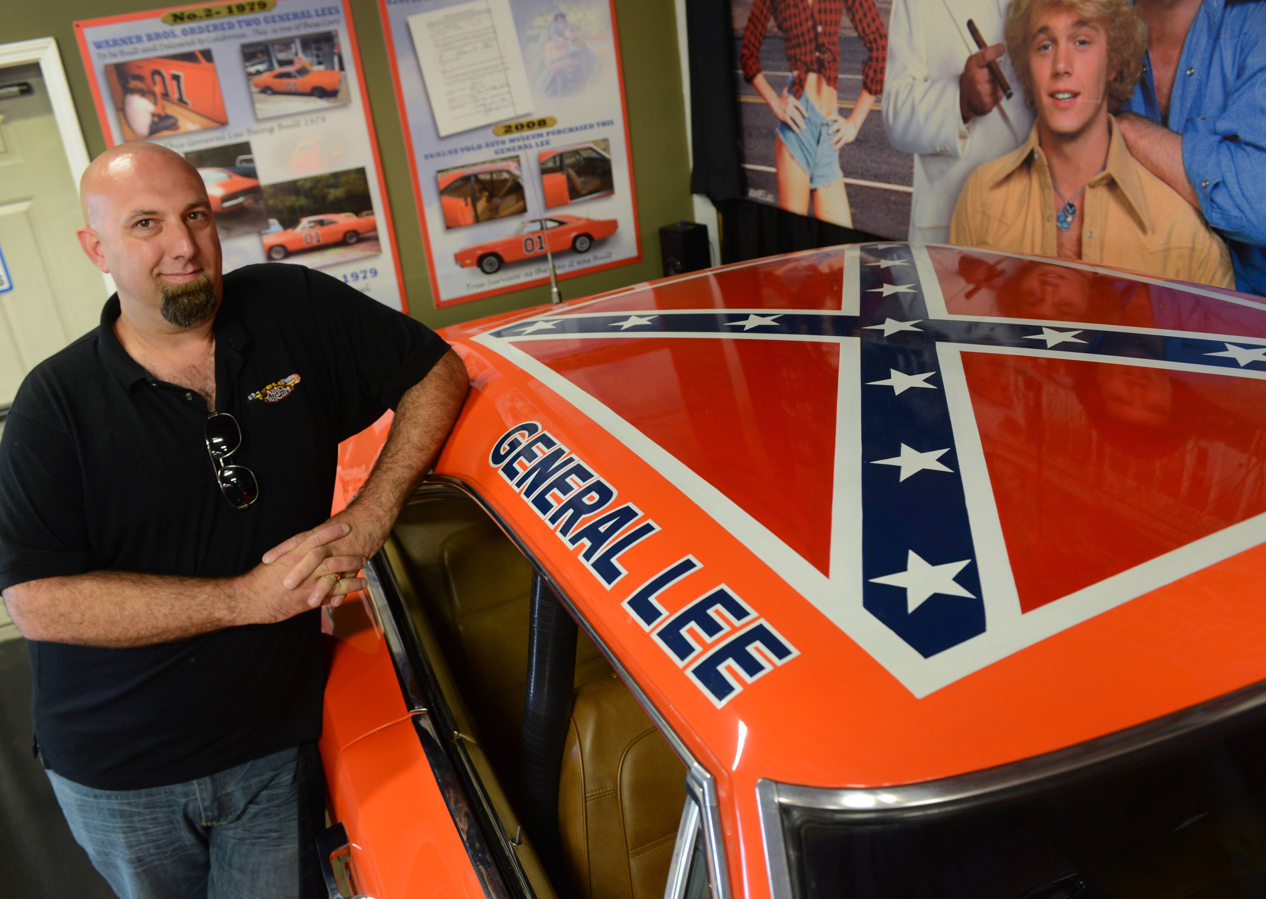 "Volo Auto Museum owner and director Brian Grams already owns the eighth General Lee used in the TV show ""The Dukes of Hazzard,"" but now it has made an offer to buy the original now owned by pro golfer Bubba Watson."