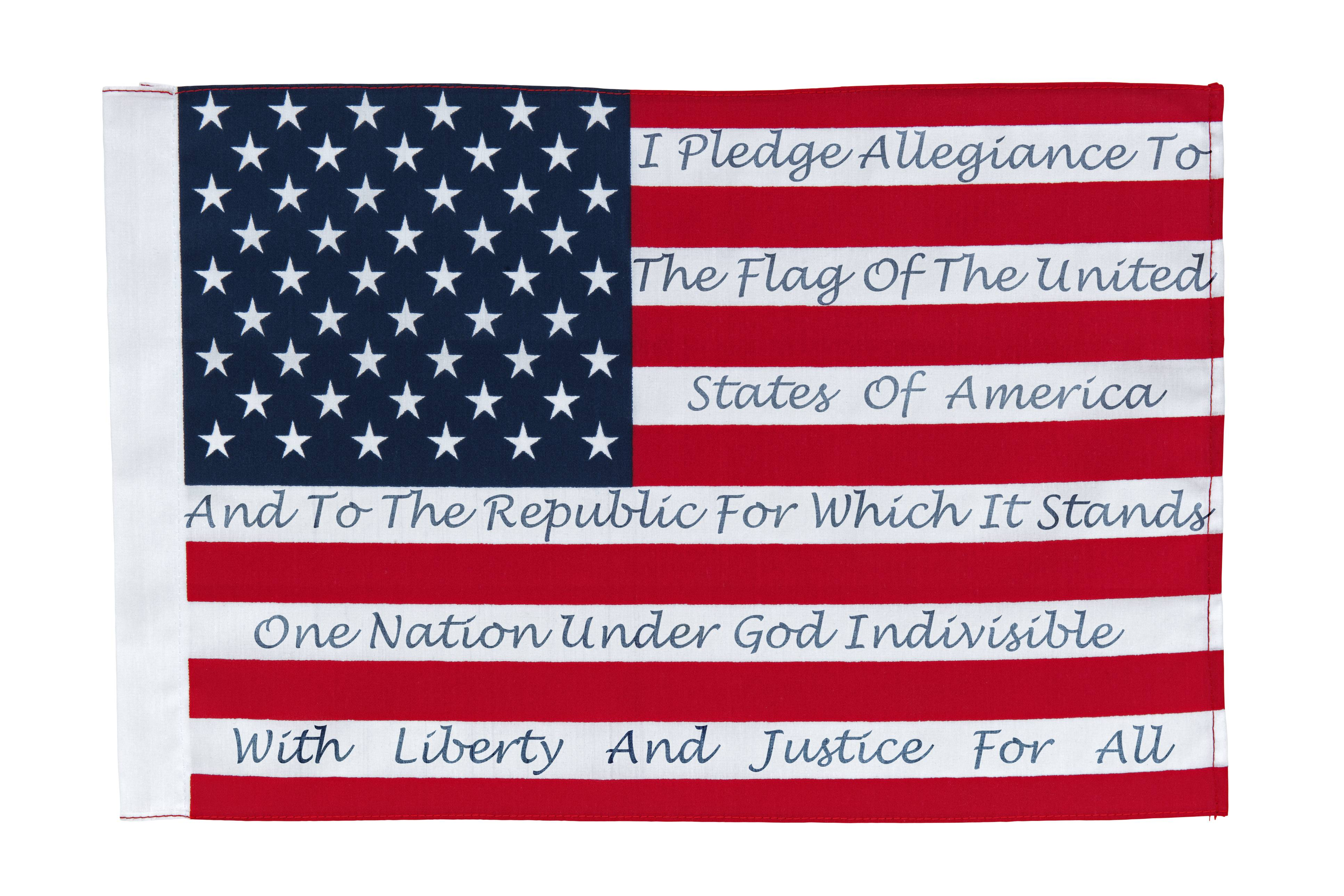 How the Pledge of Allegiance has changed since 1892