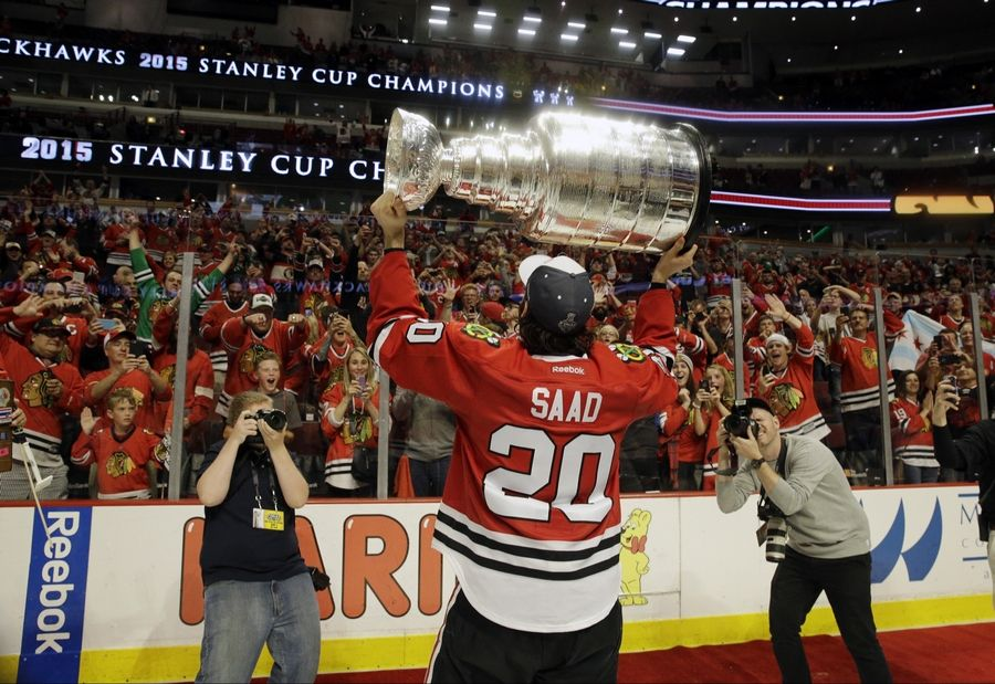 While Brandon Saad might have gotten the deal from Columbus that the Blackhawks could not afford, what are his chances of hoisting the Stanley Cup with the Blue Jackets?